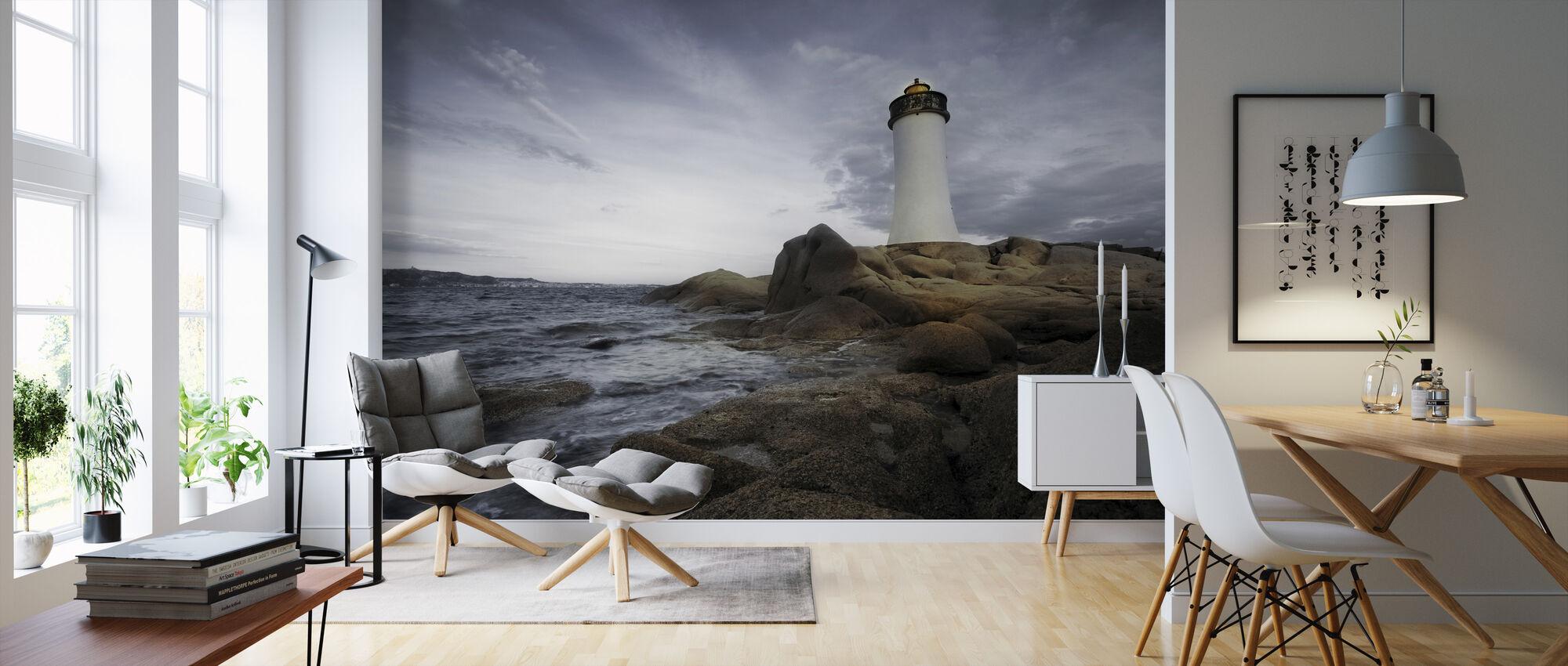 Sardinia Lighthouse - Wallpaper - Living Room