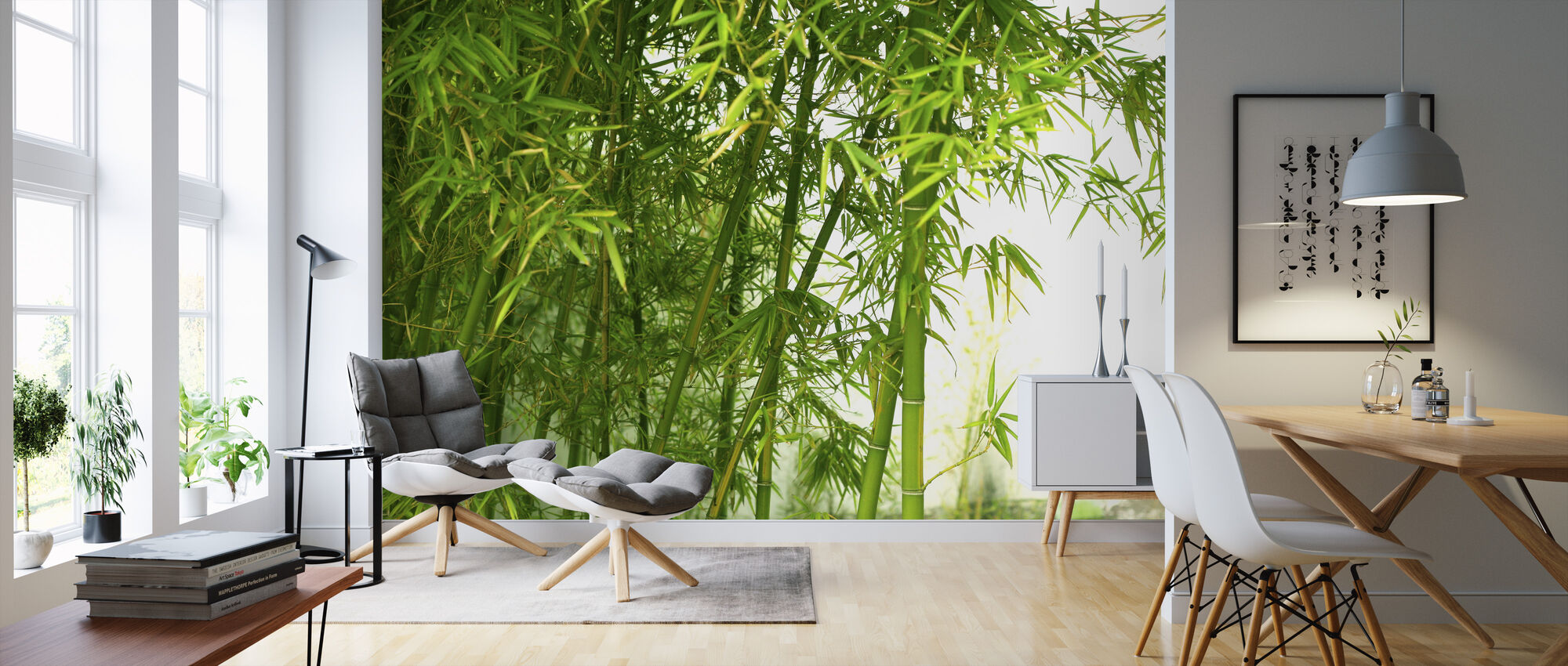 Beautiful Bamboo - Wallpaper - Living Room