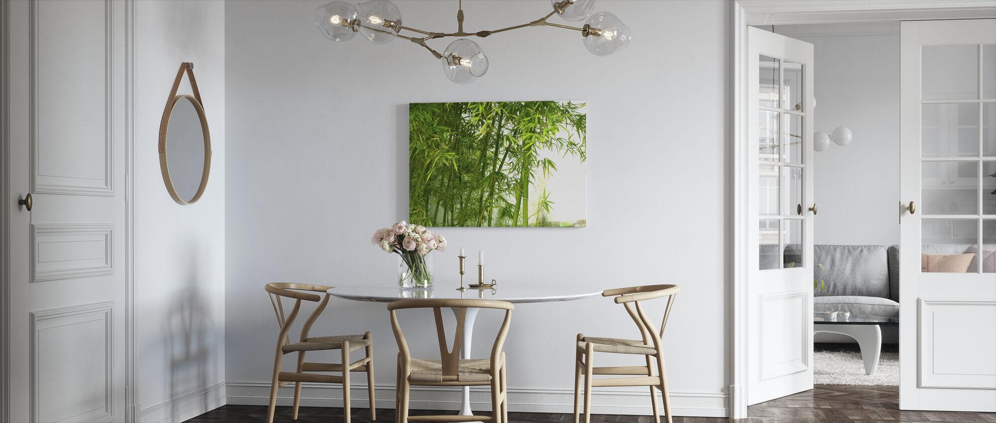 Mooie Bamboe - Canvas print - Keuken