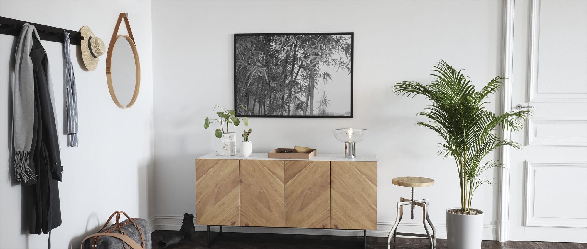 Mooie Bamboe - Ingelijste print - Gang