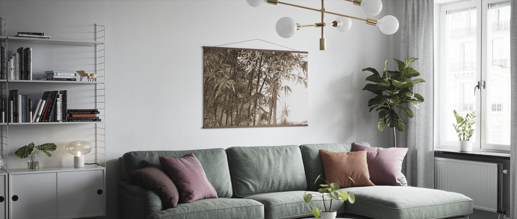 Mooie Bamboe - Poster - Woonkamer