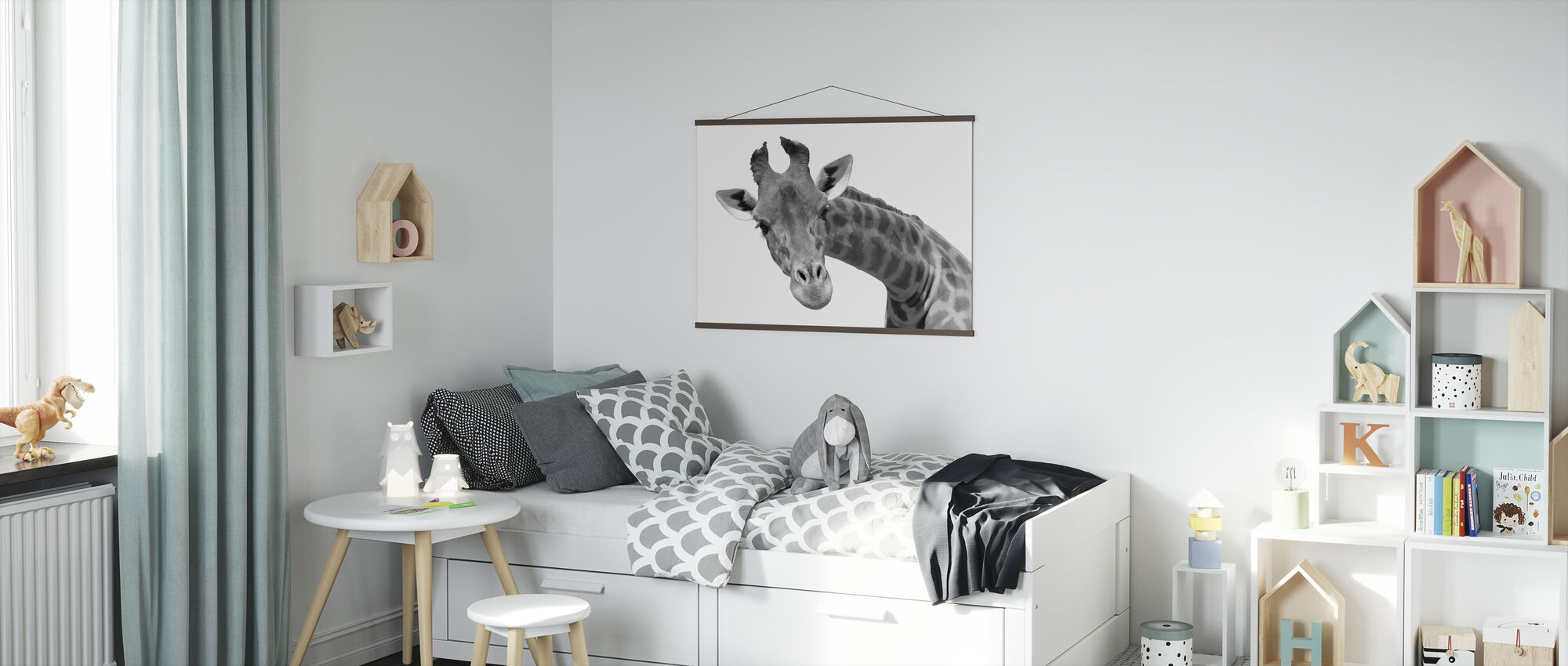 Giraffe - Poster - Kids Room