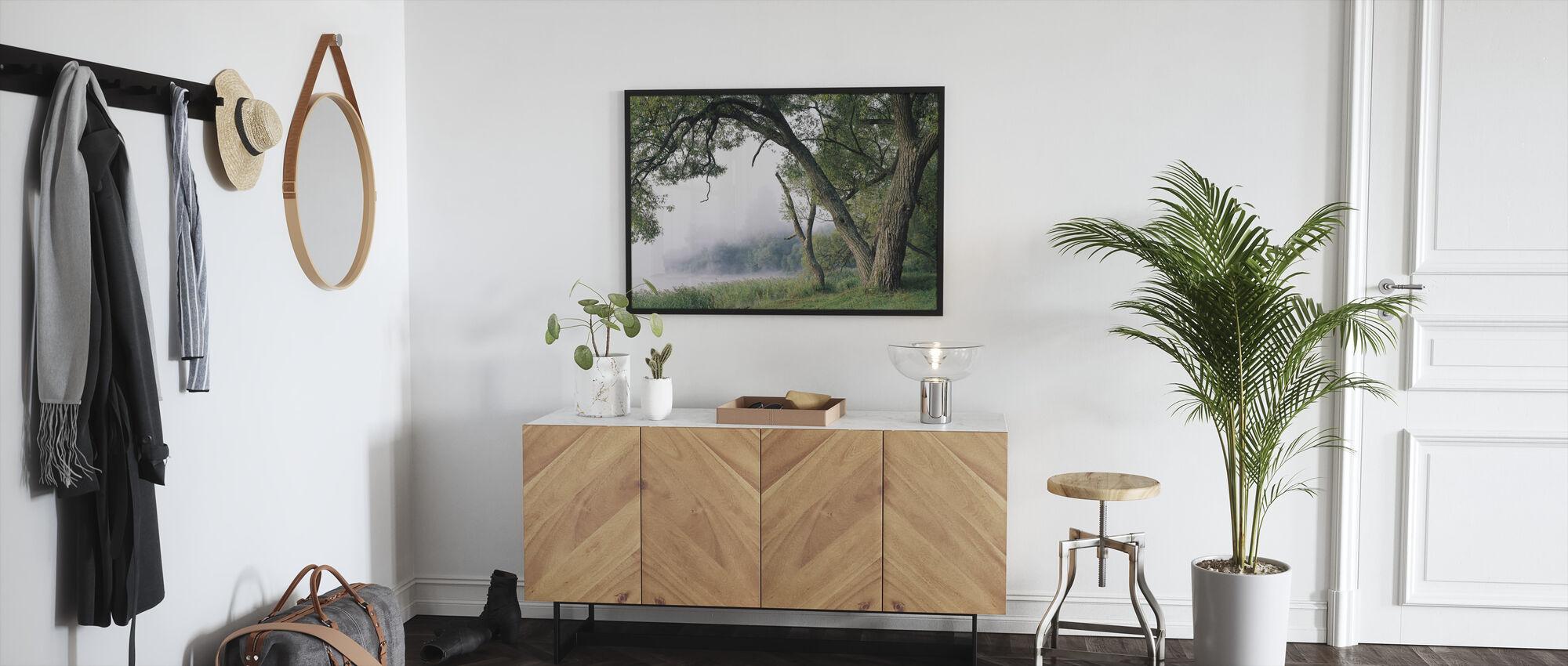 Tree in a Fog - Framed print - Hallway