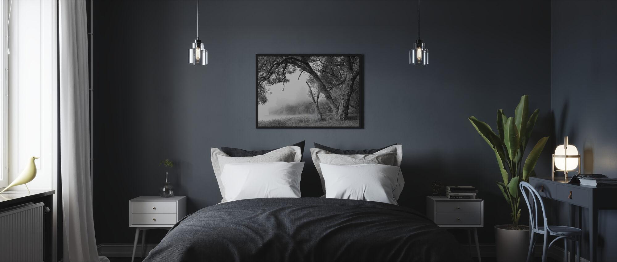 Tree in a Fog - Framed print - Bedroom