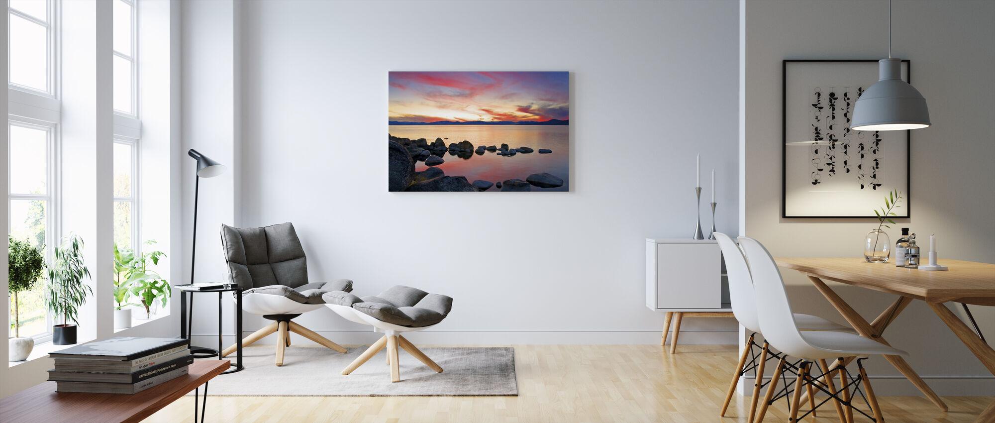 Lake Tahoe, USA - Canvas print - Living Room