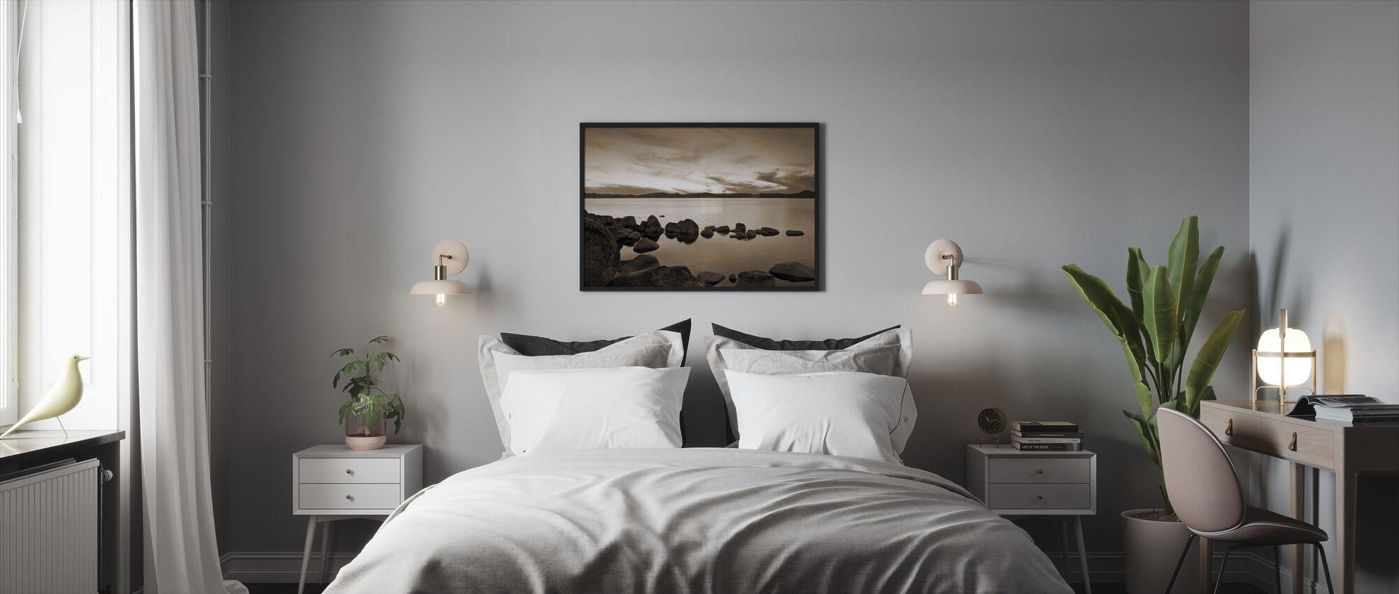 Lake Tahoe, Yhdysvallat - Kehystetty kuva - Makuuhuone