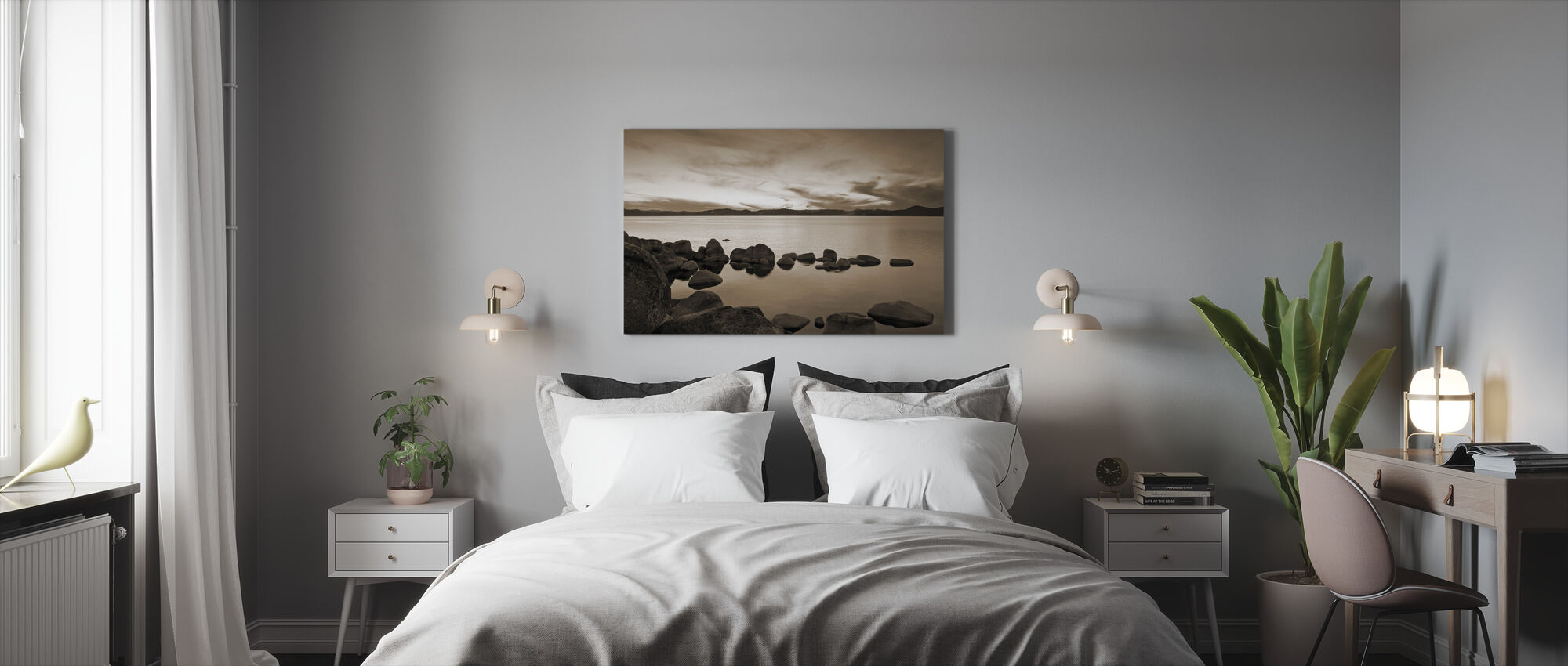 Lake Tahoe, USA - Canvas print - Bedroom