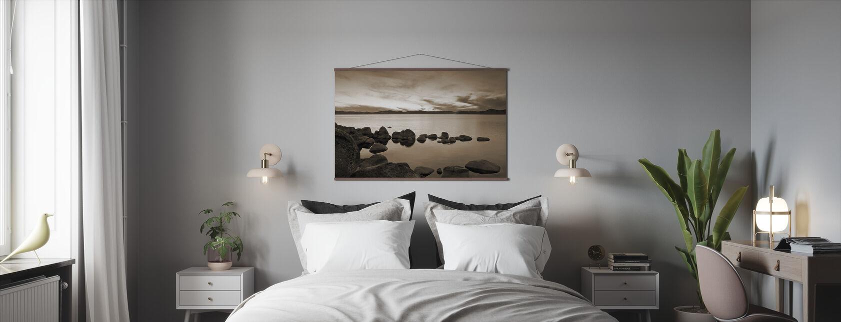 Lake Tahoe, USA - Poster - Bedroom