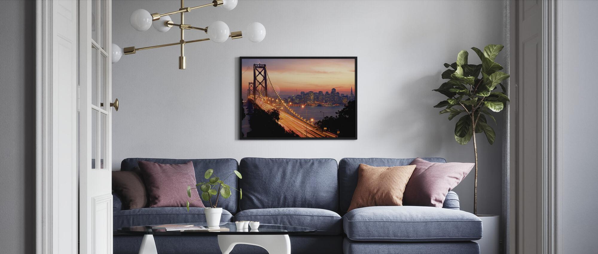 San Francisco, California, USA - Framed print - Living Room