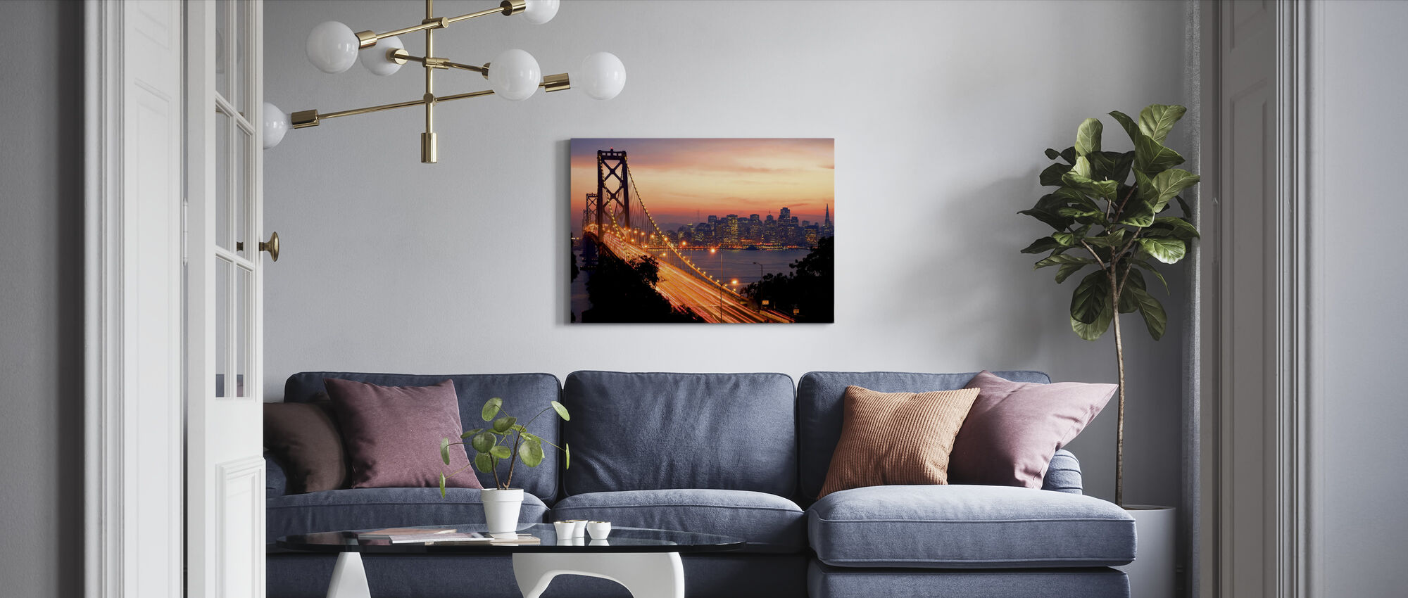 San Francisco, California, USA - Canvas print - Living Room