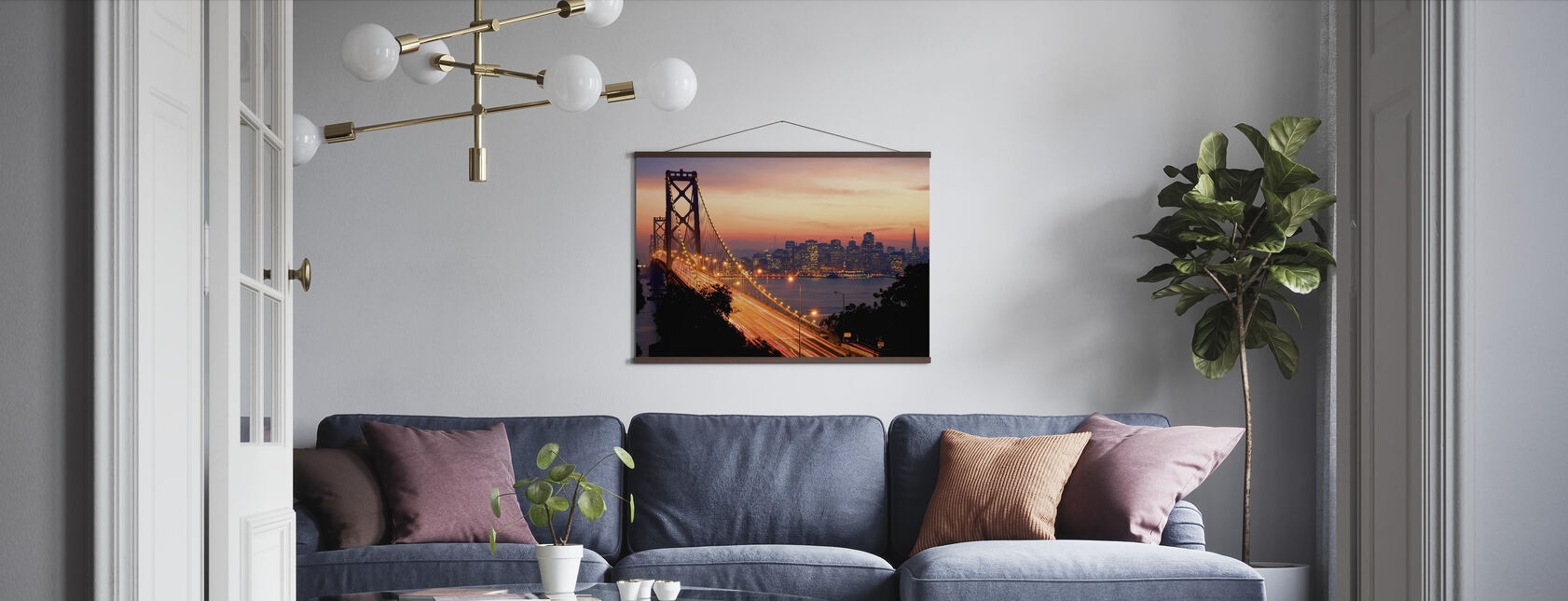San Francisco, California, USA - Poster - Living Room