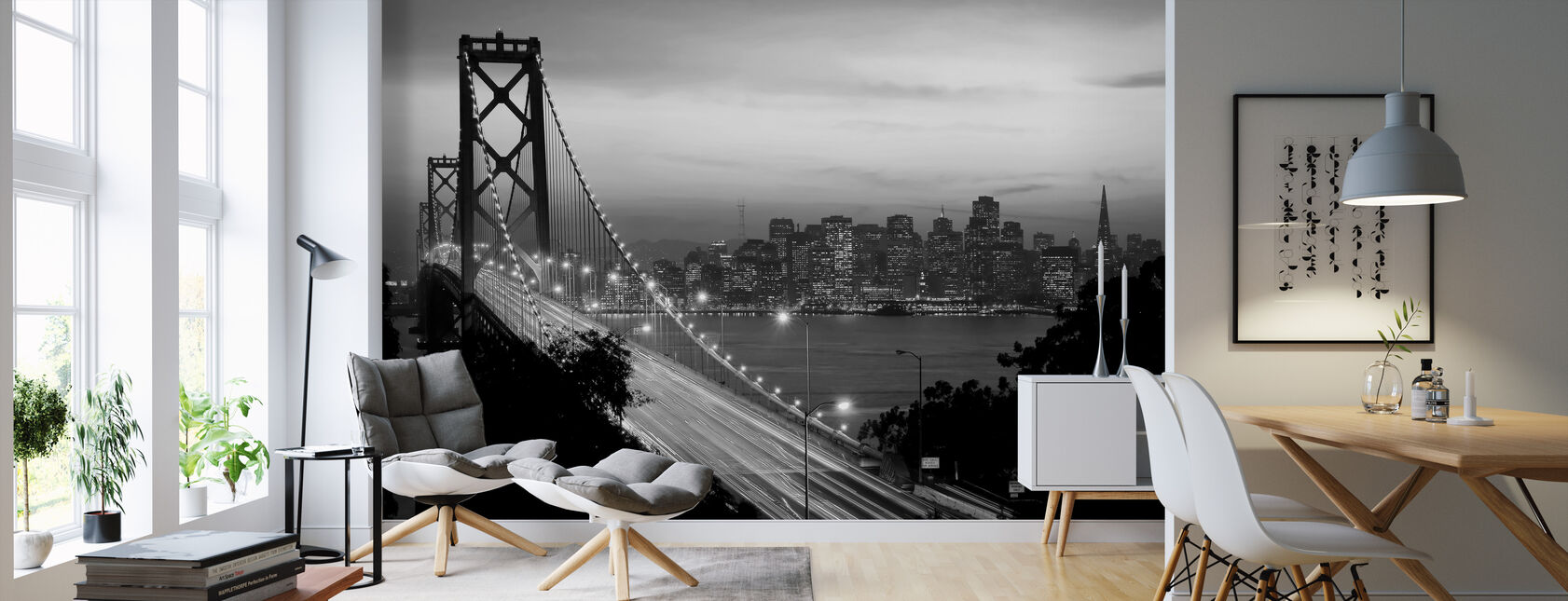 San Francisco, California, USA - Wallpaper - Living Room