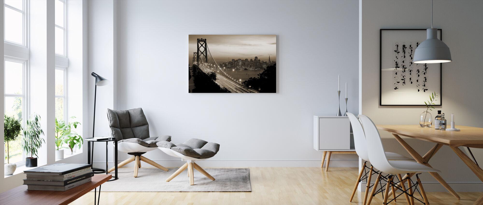 San Francisco, California, USA - Lerretsbilde - Stue