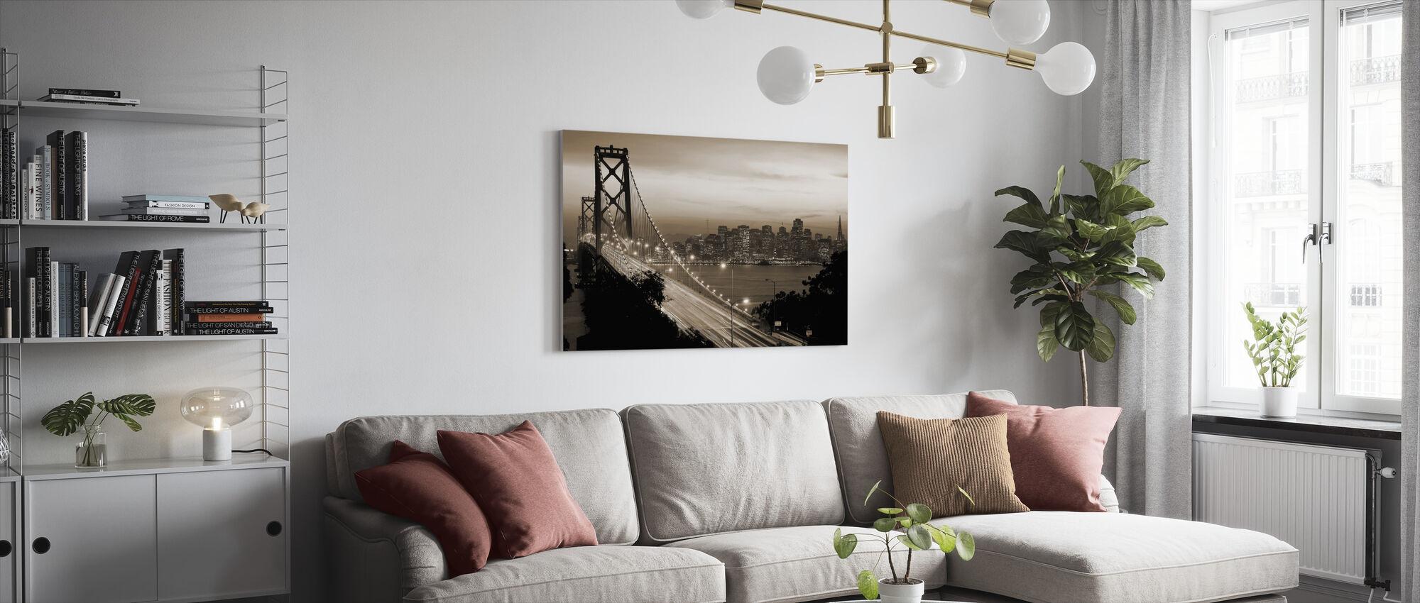 San Francisco, Kalifornien, USA - Leinwandbild - Wohnzimmer