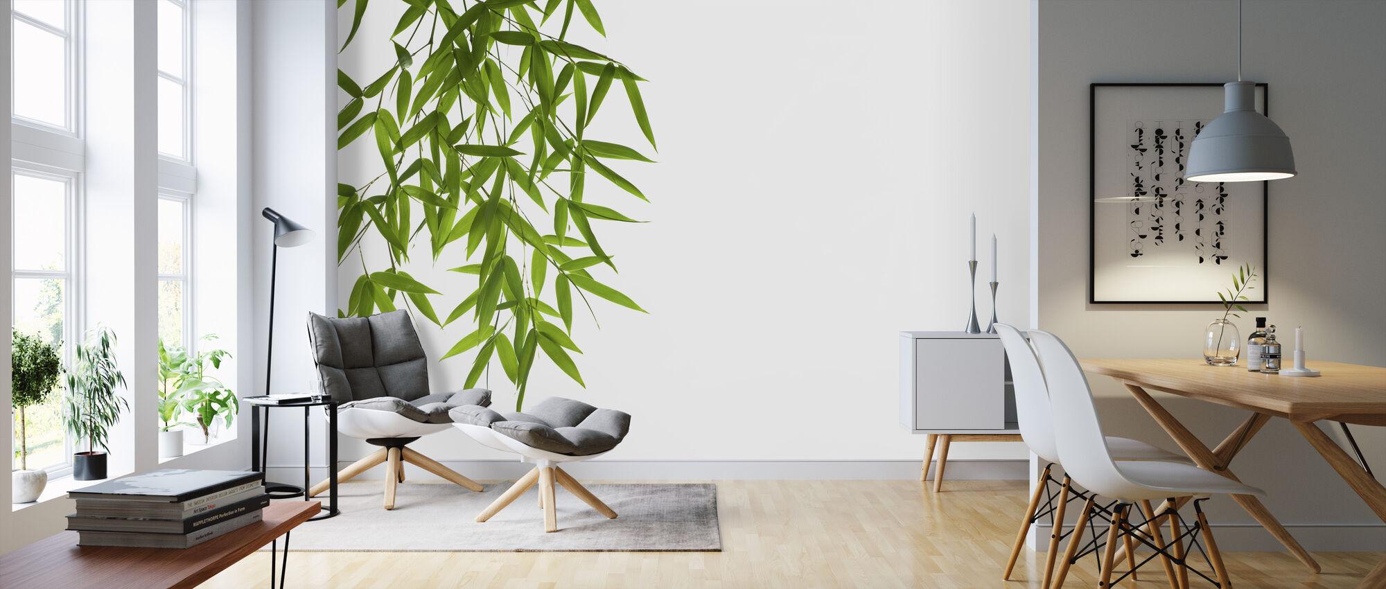 Hangende Bamboe - Behang - Woonkamer