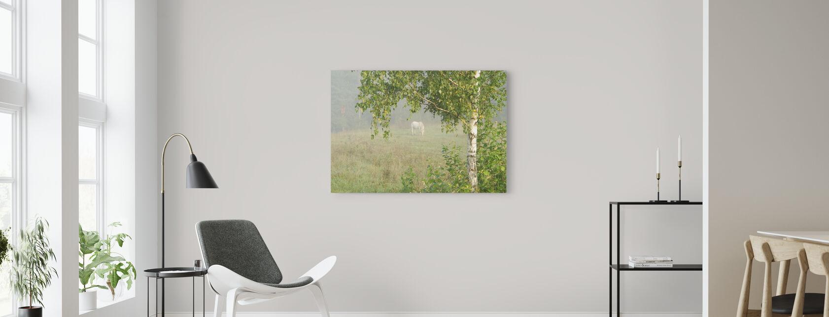 Weide - Leinwandbild - Wohnzimmer