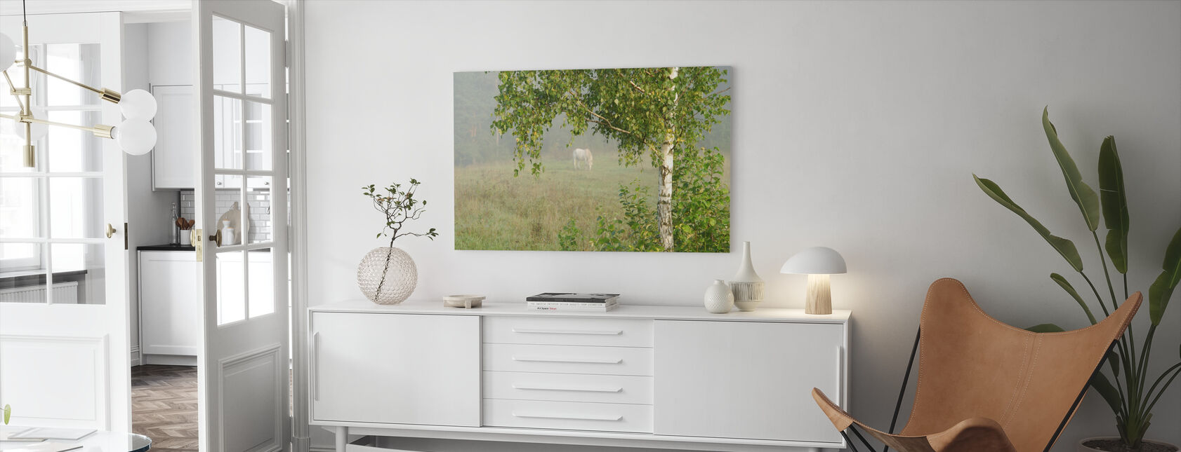 Pasture - Canvas print - Living Room