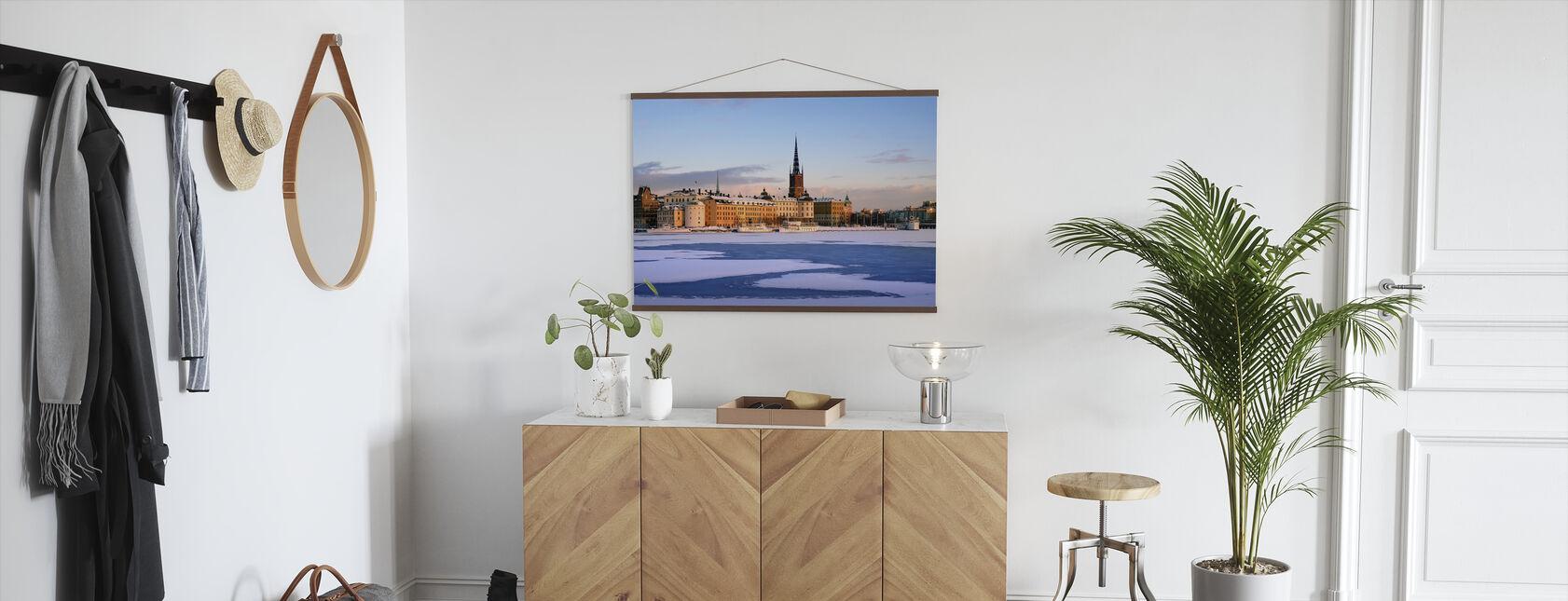 Winter in Stockholm, Sweden - Poster - Hallway
