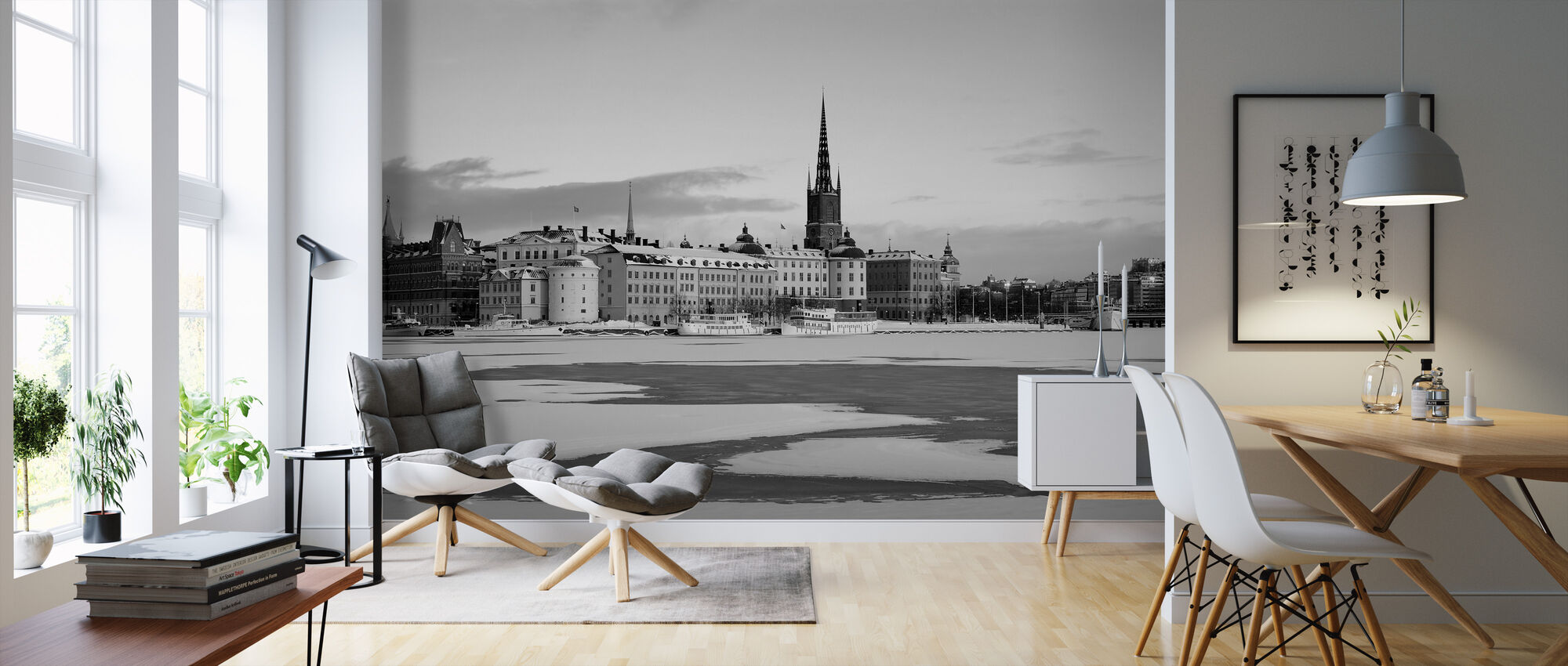 Winter in Stockholm, Sweden - Wallpaper - Living Room