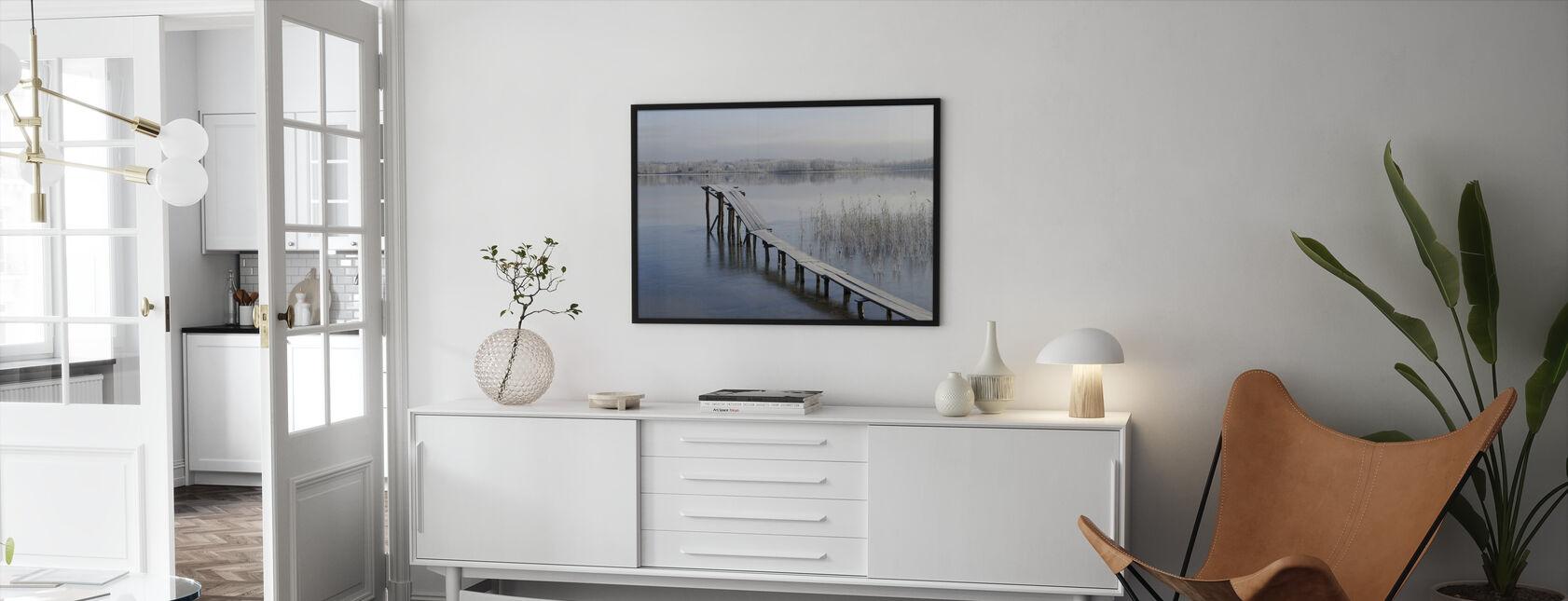 Attributes of Winter - Framed print - Living Room