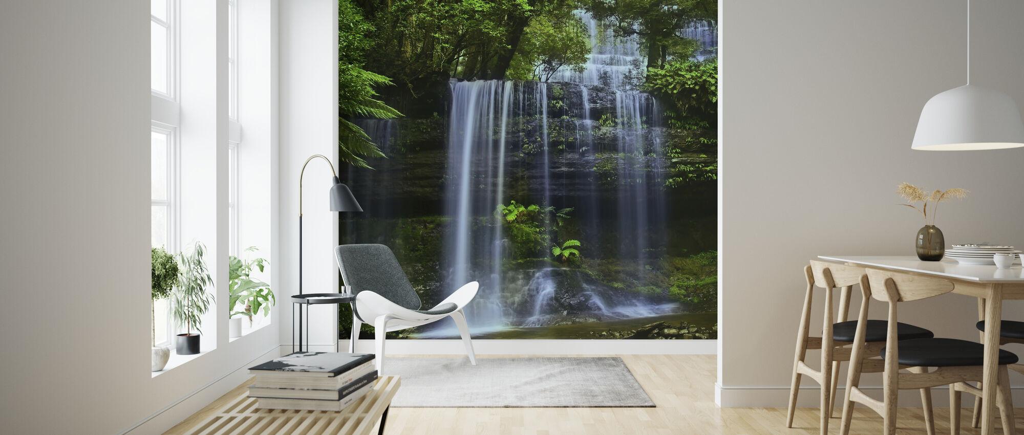 Tasmanien vattenfall - Tapet - Vardagsrum