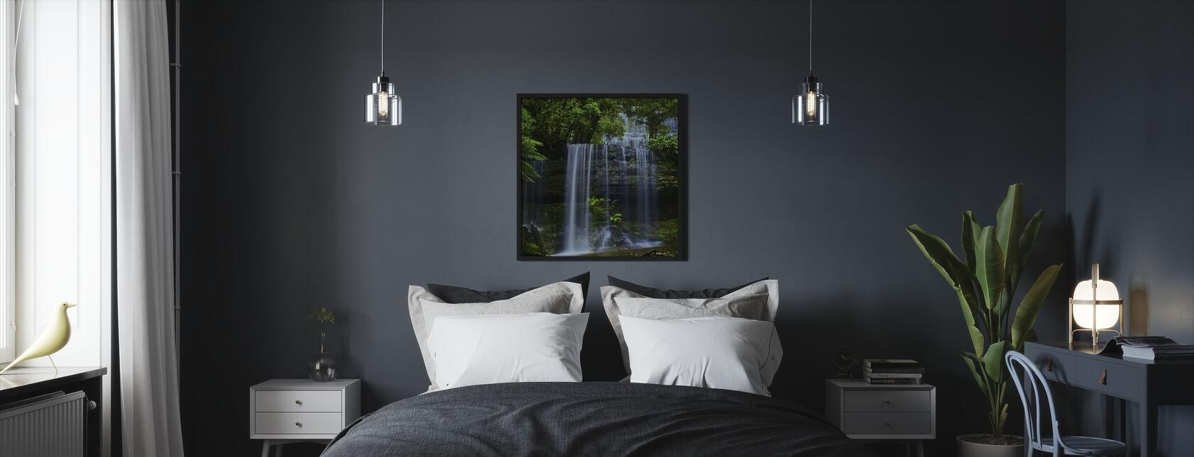 Tasmania Waterfall - Framed print - Bedroom