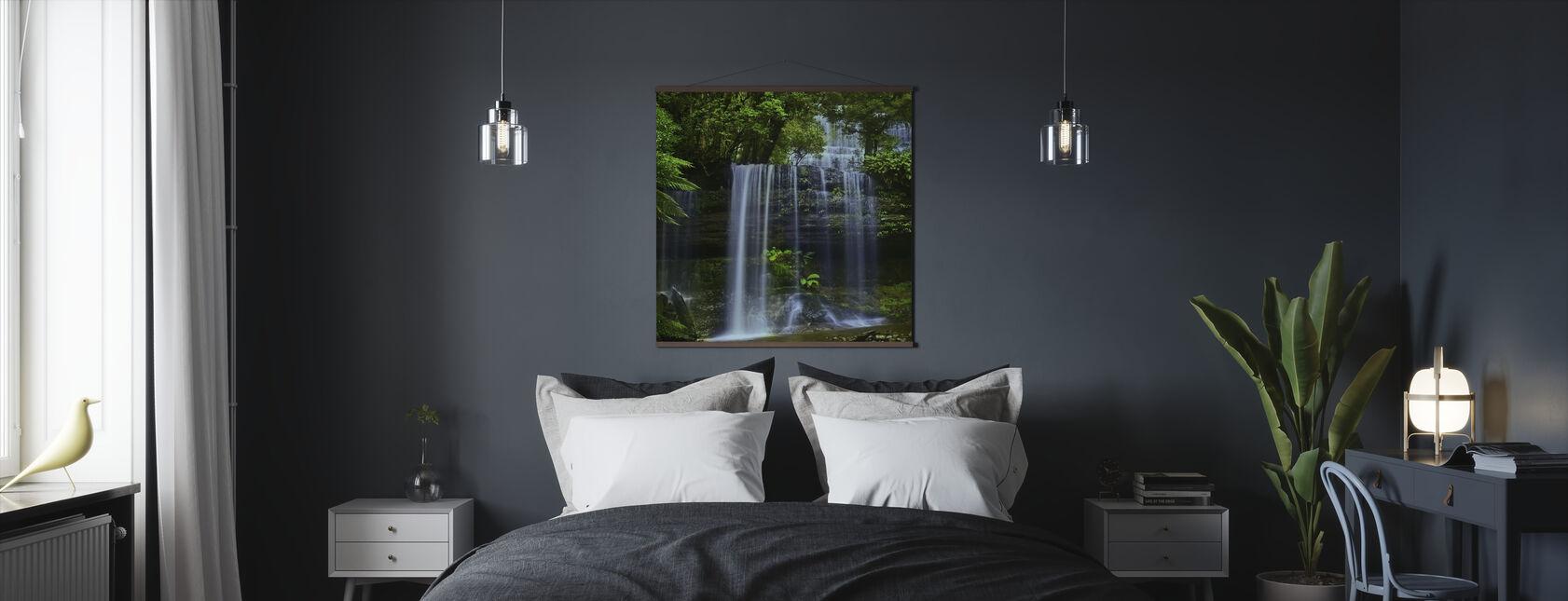 Tasmanian vesiputous - Juliste - Makuuhuone