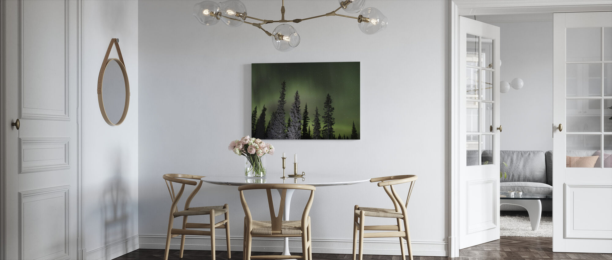 Aurora - Canvas print - Kitchen