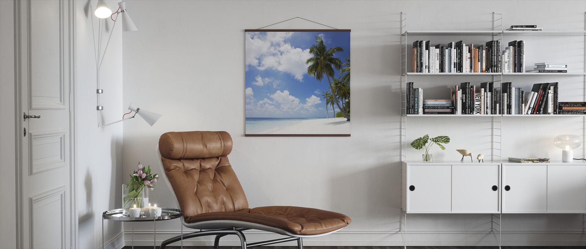 Paradise Beach - Poster - Living Room