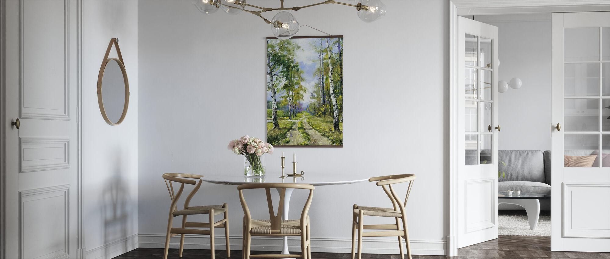 Björk väg - Poster - Kök