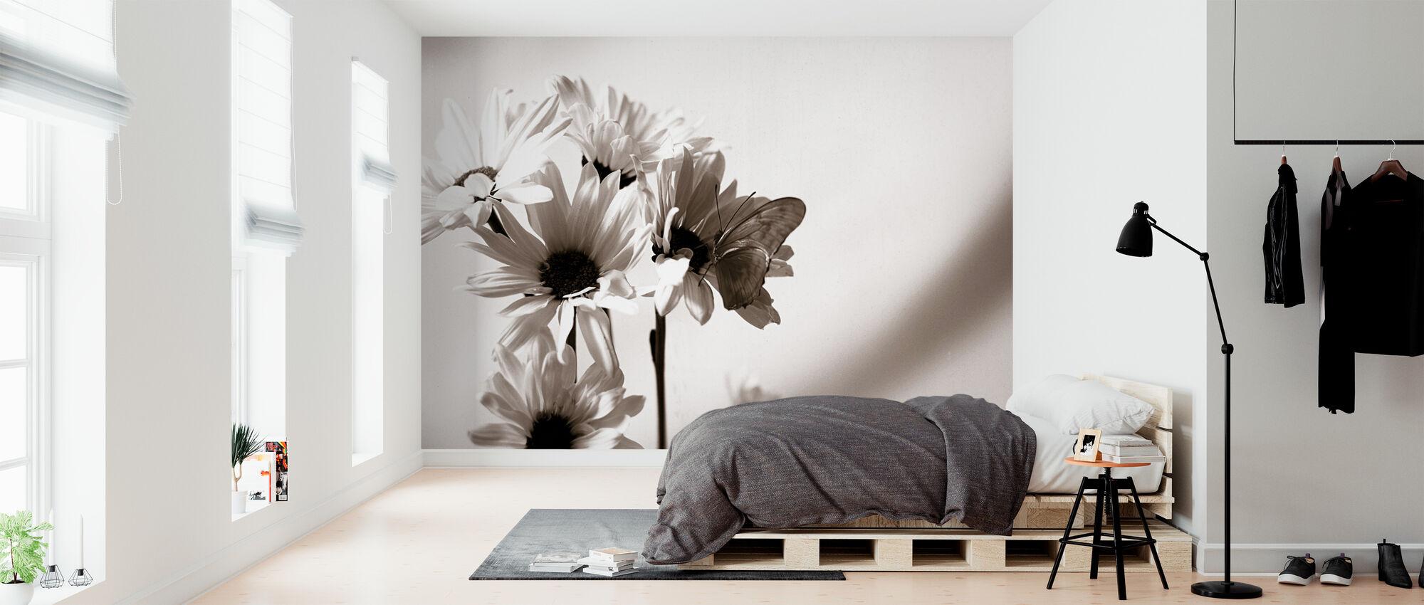 Julia Vlinder - Behang - Slaapkamer