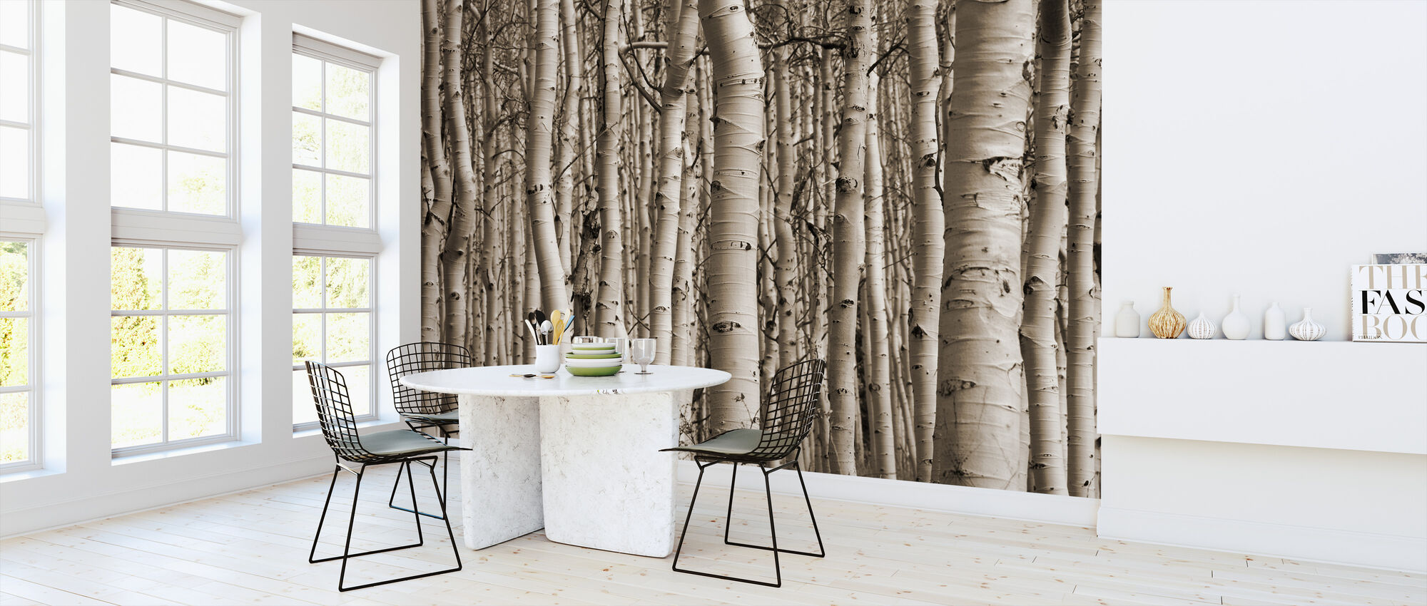 Aspen Forest - Wallpaper - Kitchen