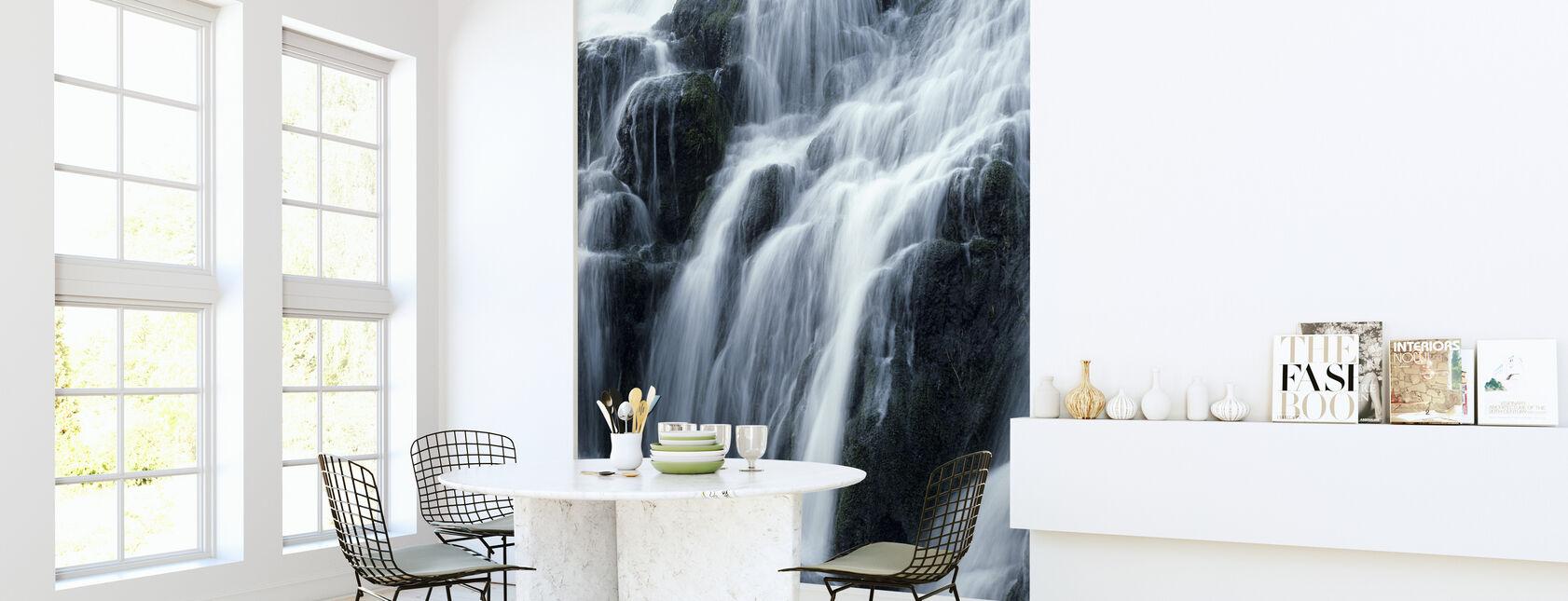 Wodospad - Tapeta - Kuchnia