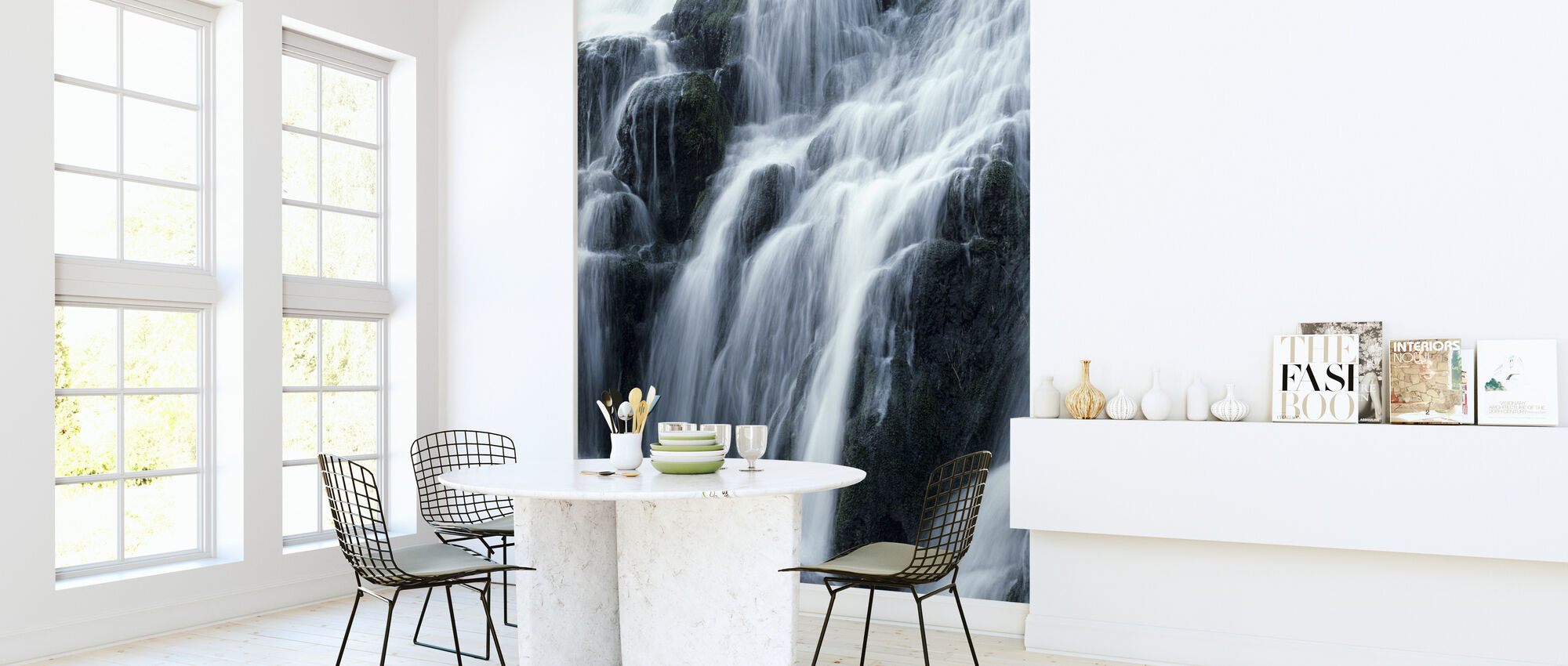 Waterfall - Wallpaper - Kitchen