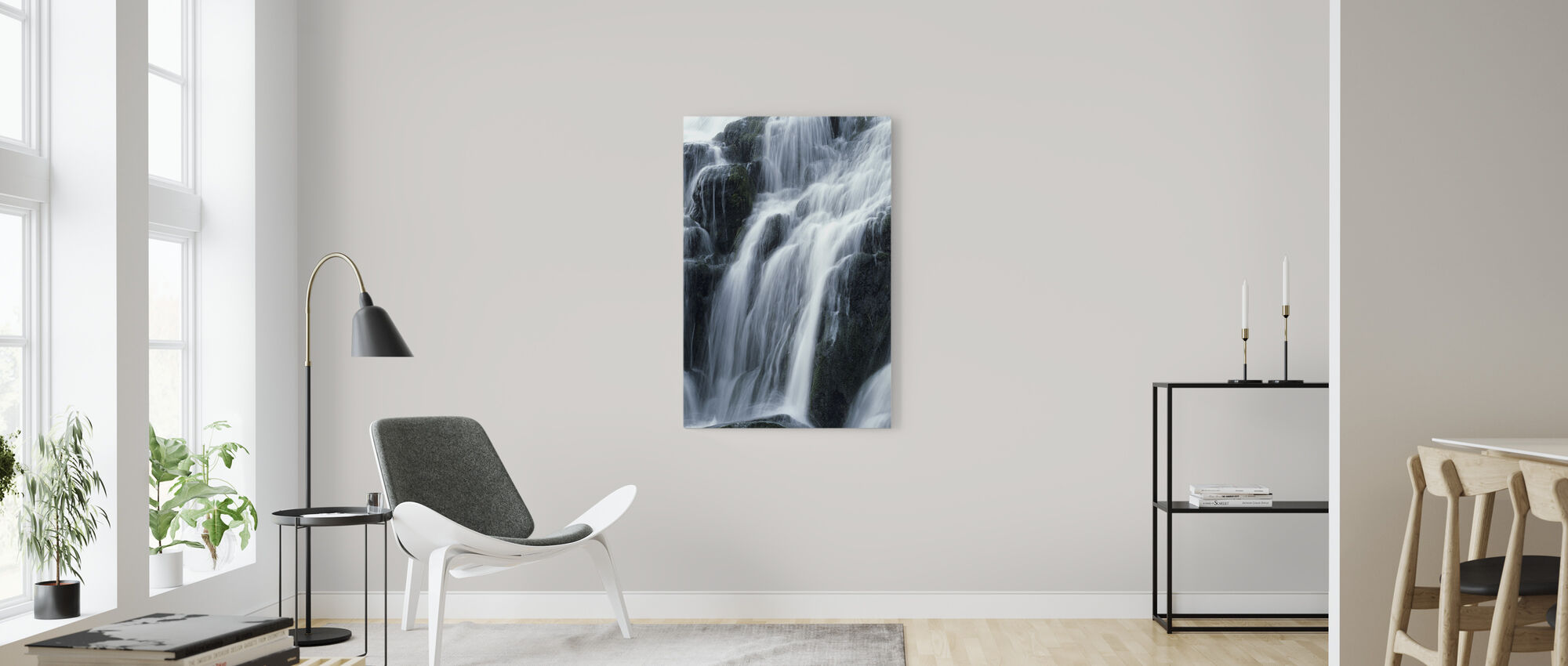 Waterfall - Canvas print - Living Room