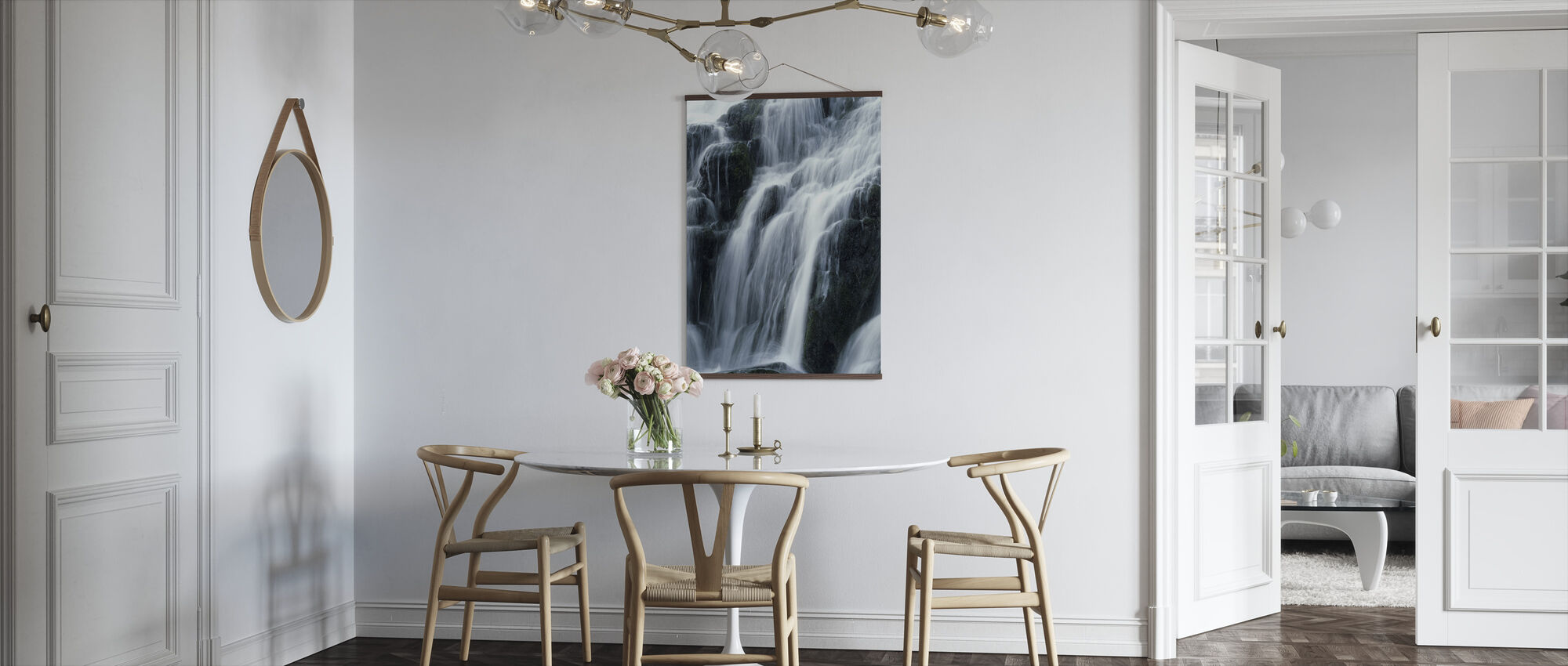 Waterfall - Poster - Kitchen