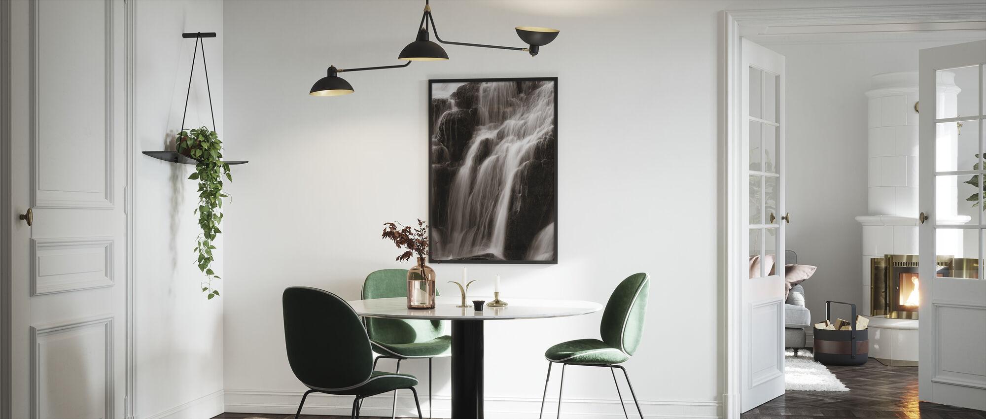 Foss - Innrammet bilde - Kjøkken