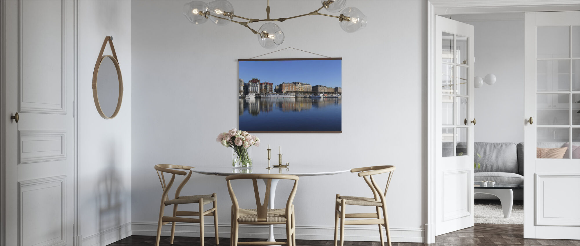 Stockholm Skyline, Sweden - Poster - Kitchen