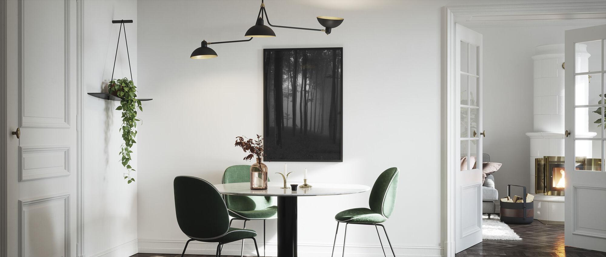 Mystical Forest - Framed print - Kitchen