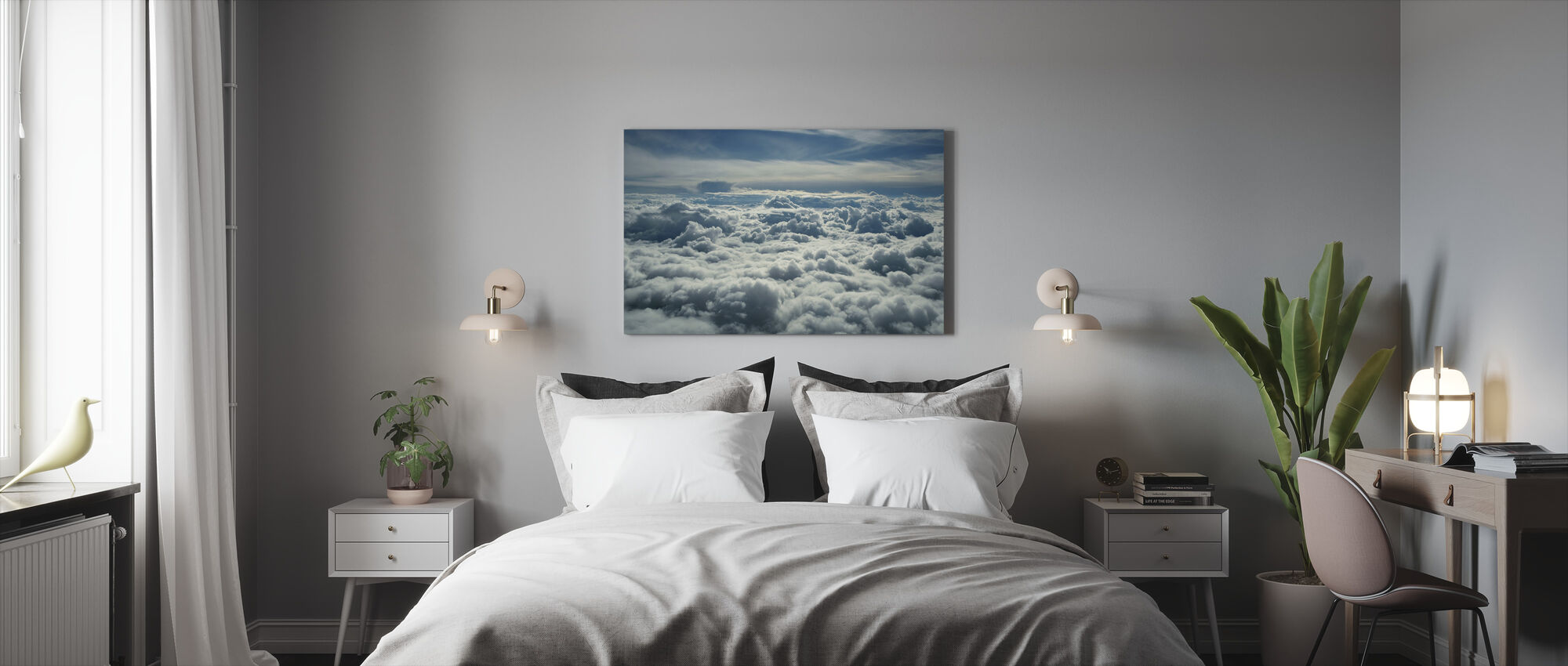 Above Clouds - Canvas print - Bedroom