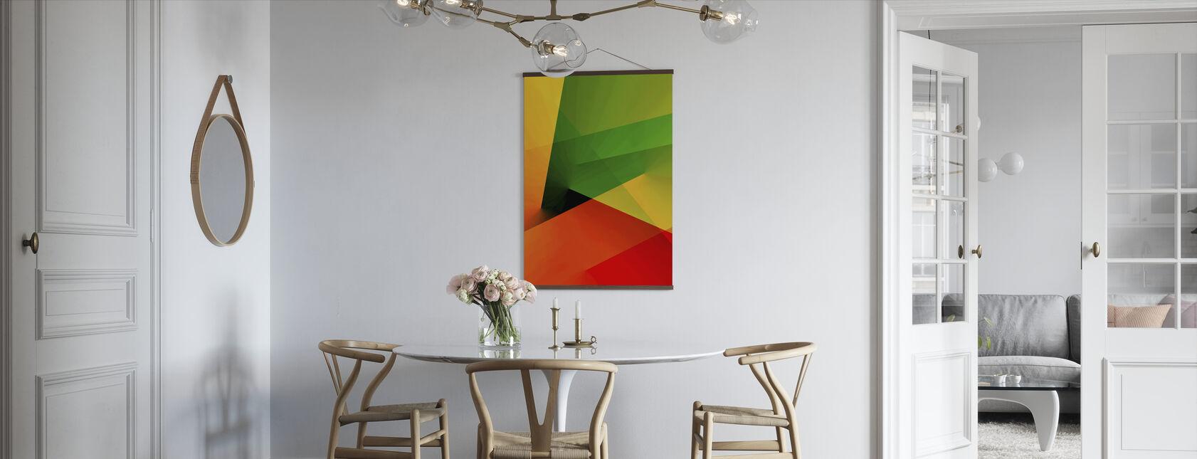 Abstract Licht - Poster - Keuken