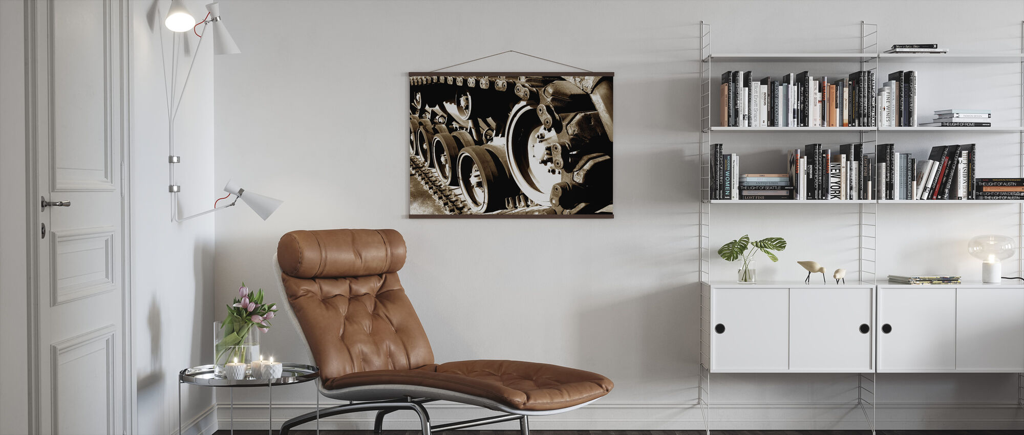 Tank Track - Poster - Living Room