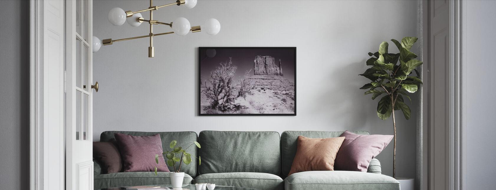 Monument Valley, Utah, USA - Framed print - Living Room
