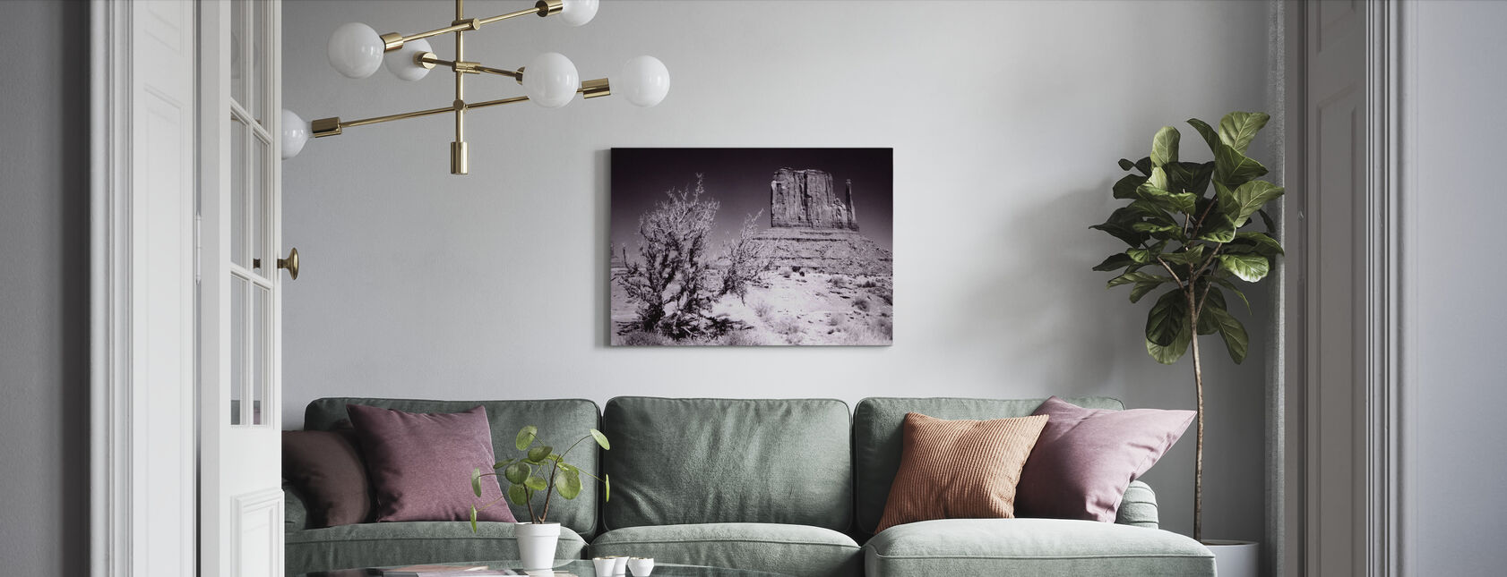 Monument Valley, Utah, USA - Canvas print - Living Room