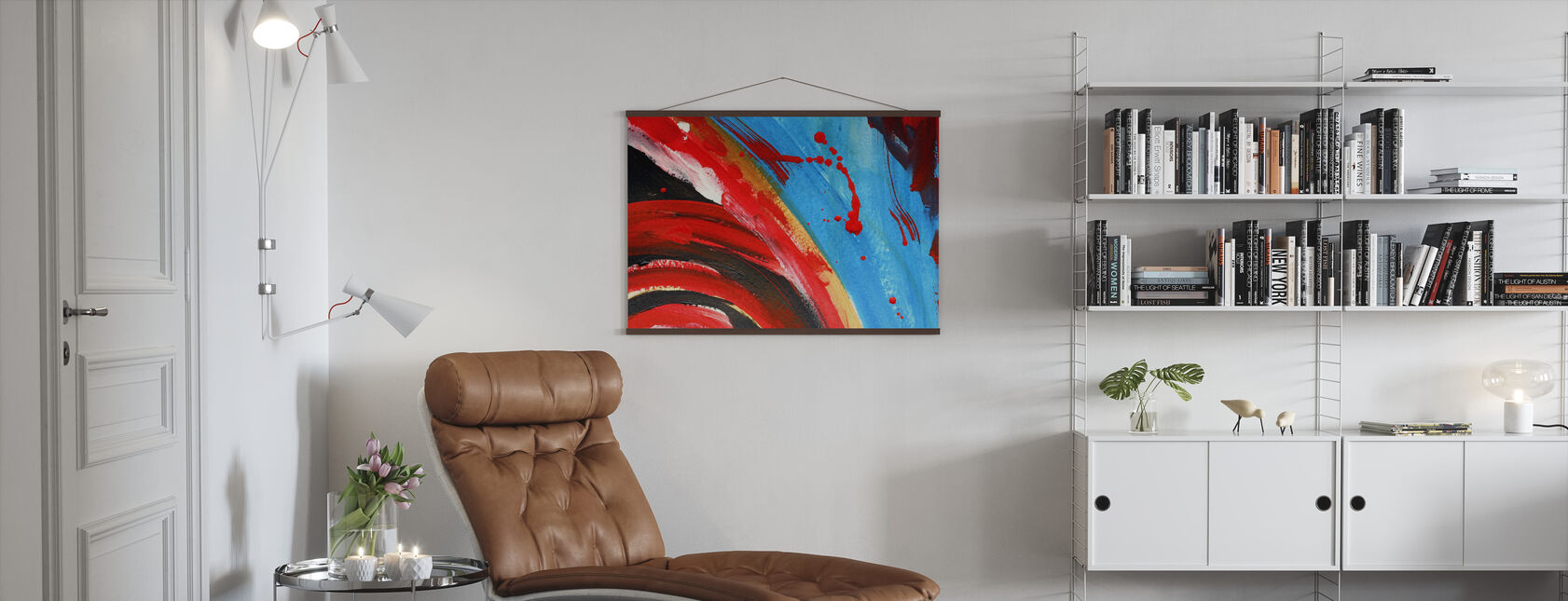 Abstract Painting - Poster - Living Room