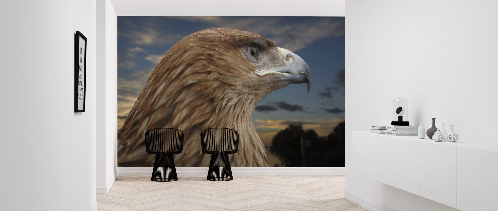Brown Eagle - Wallpaper - Hallway