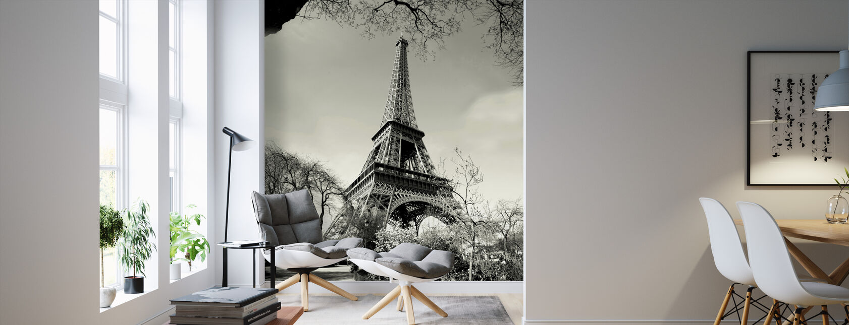 Eiffel Tower - Wallpaper - Living Room