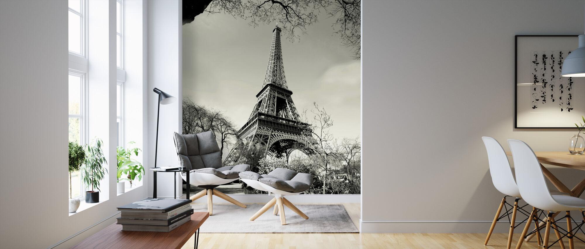Eiffel-torni - Tapetti - Olohuone