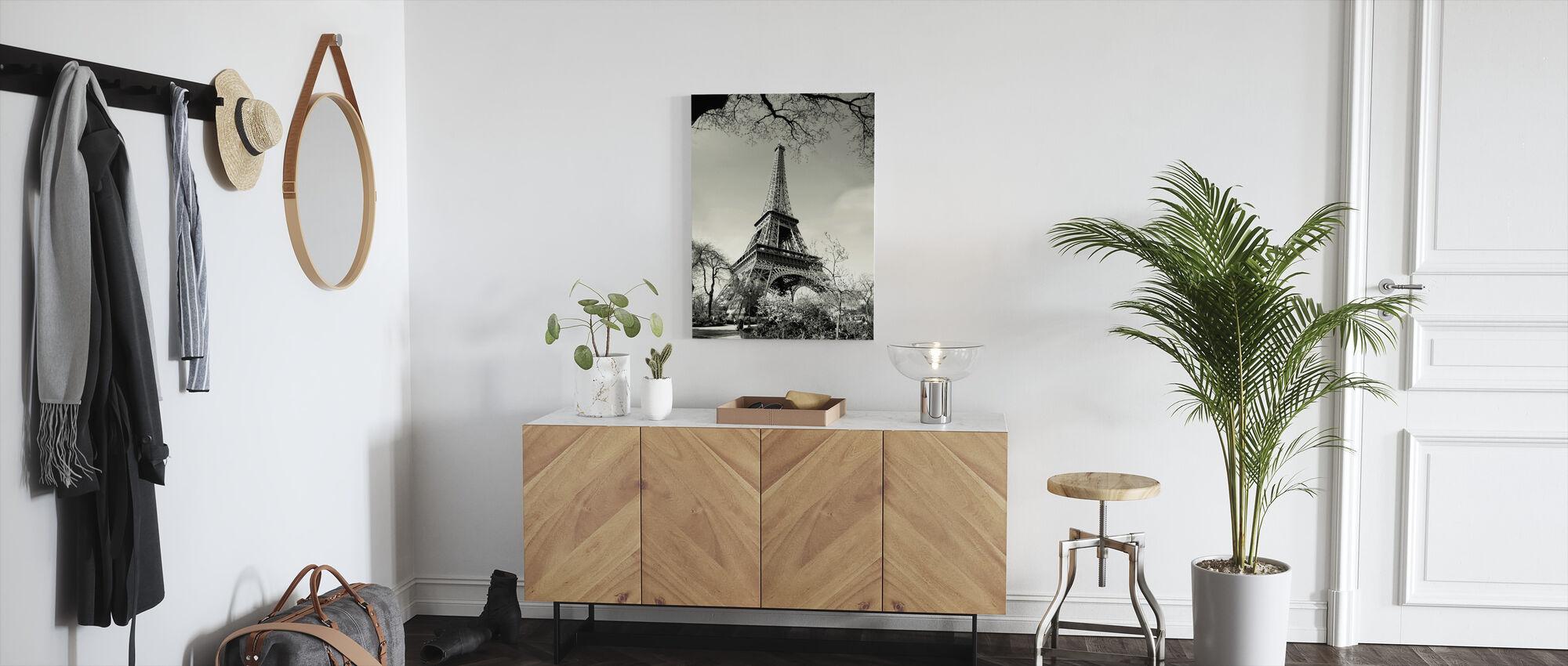Eiffeltoren - Canvas print - Gang