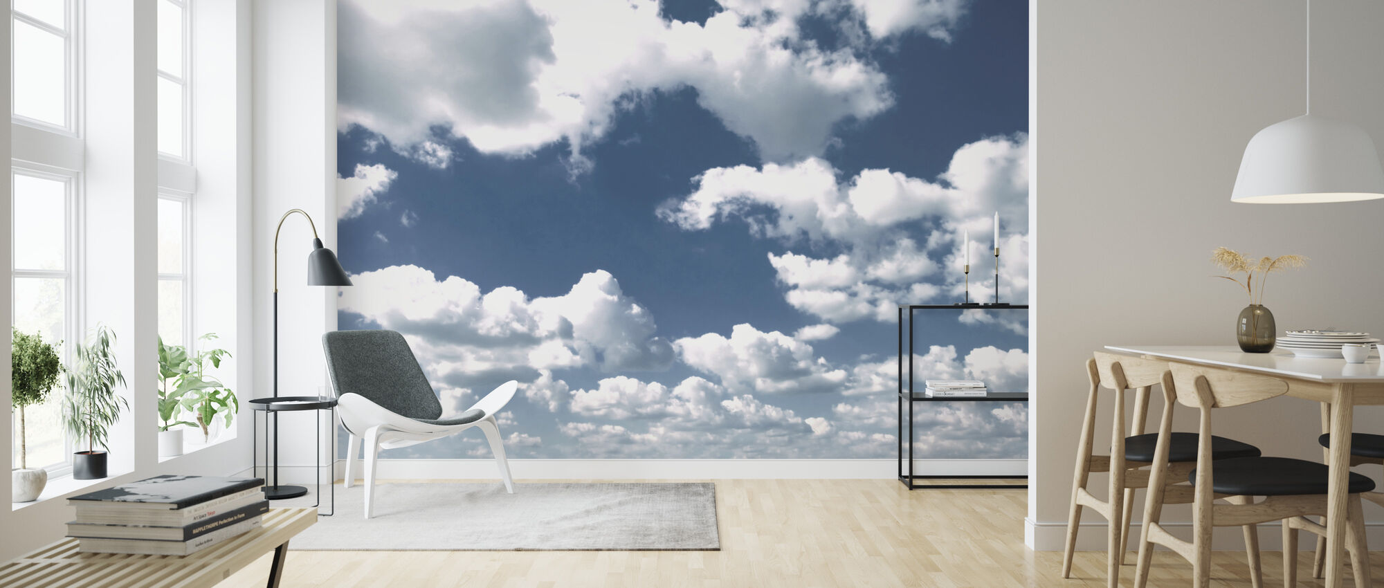 Clouds - Wallpaper - Living Room